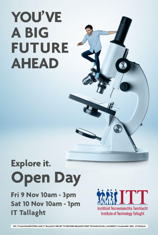 DIT Open Day Print Ad