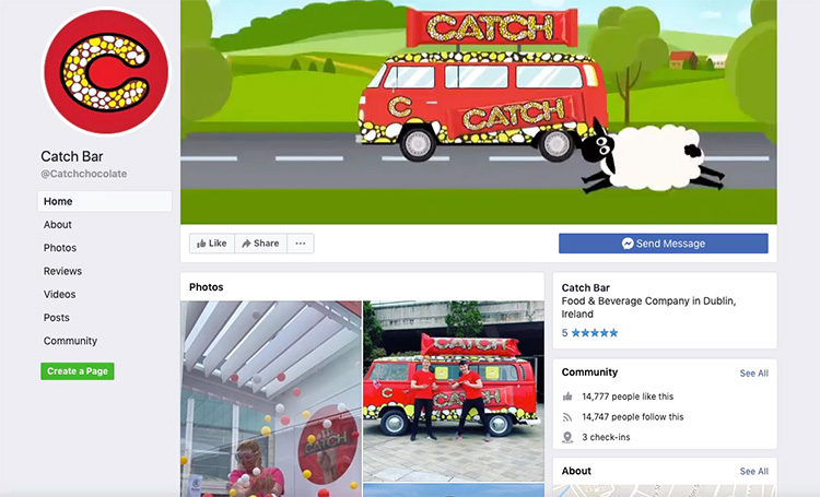 Cathc Facebook Cover Image video
